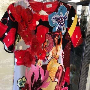 Dresses & Skirts - Silky dress handmade